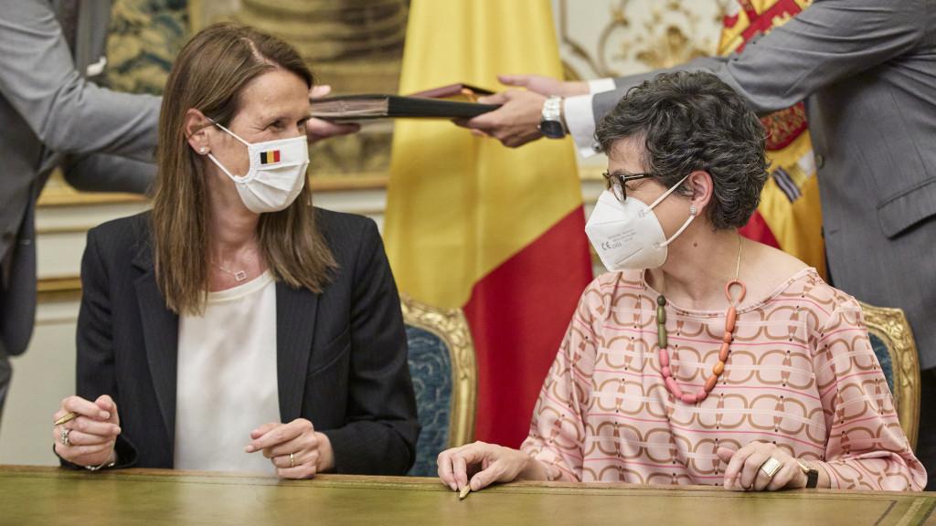 España y Bélgica firman un Memorando de Entendimiento para reforzar sus relaciones