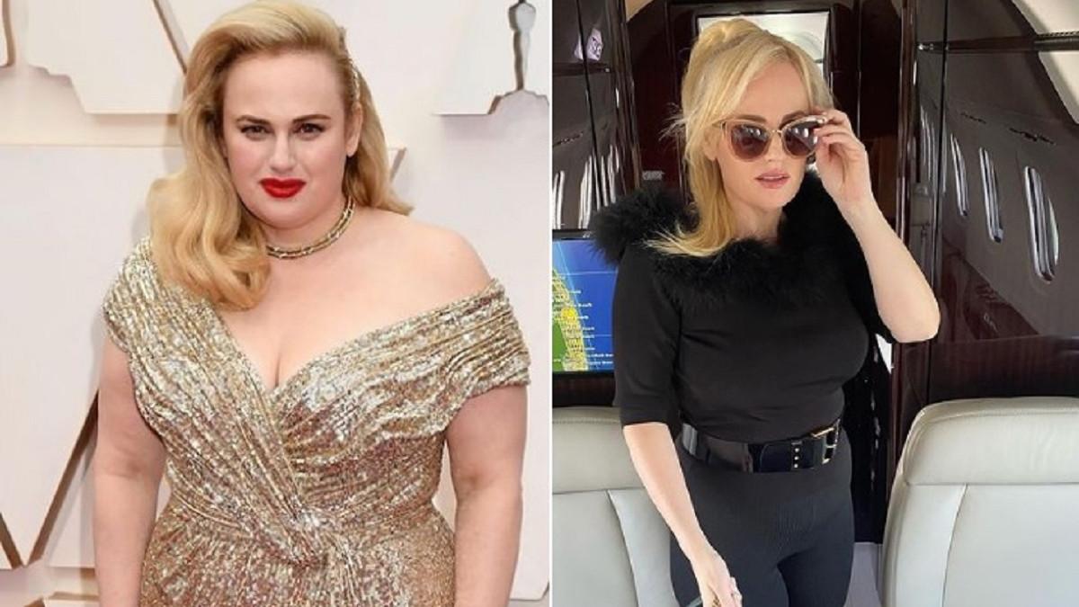 El antes y el después de Rebel Wilson tras perder peso
