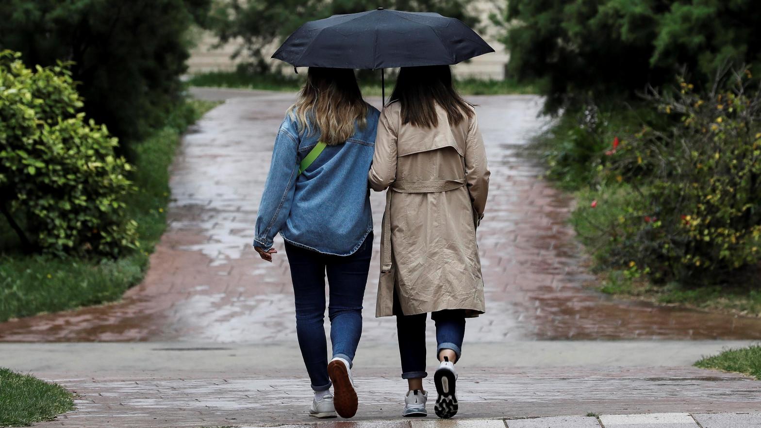 Fuertes tormentas en un amplio entorno del alto Ebro