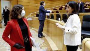 """Darias, contra Ayuso: """"Madrid también dijo que no iba a cumplir en Semana Santa y al final cumplió"""""""