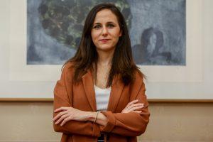 La ministra de Derechos Sociales, Ione Belarra, de Unidas Podemos