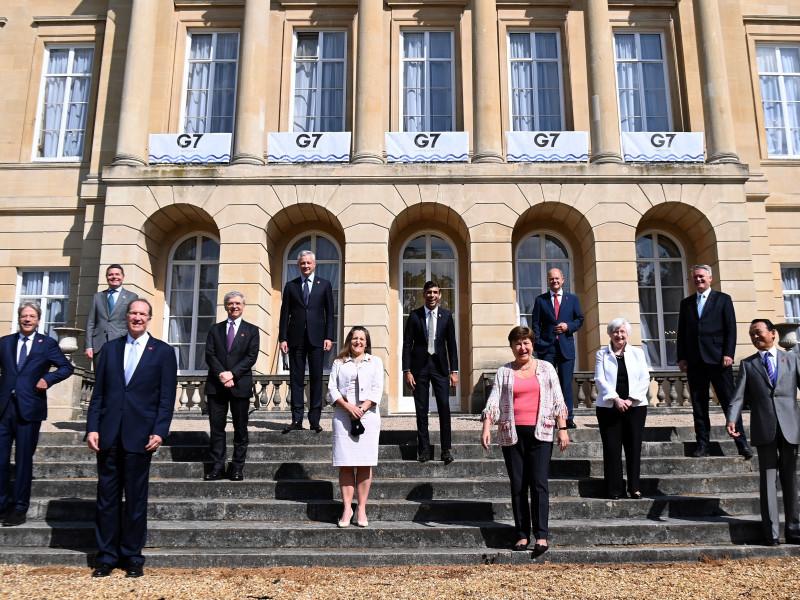 """El G7 alcanza un """"histórico"""" acuerdo para reformar el sistema fiscal global"""