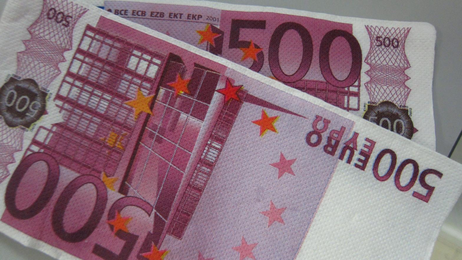 Cae el número de billetes de 500 euros