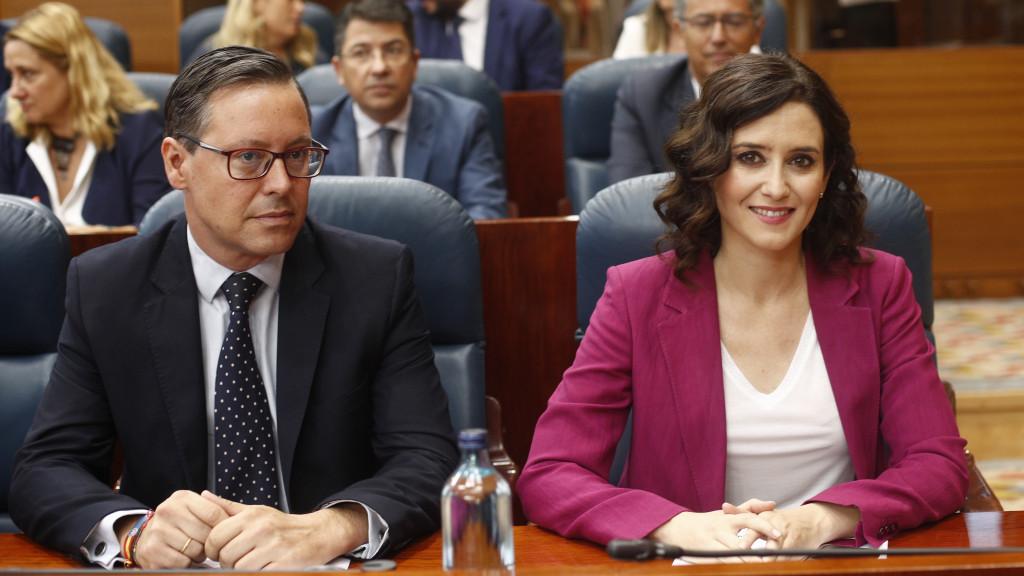 Ayuso propondrá a Alfonso Serrano como portavoz del PP en la Asamblea de Madrid