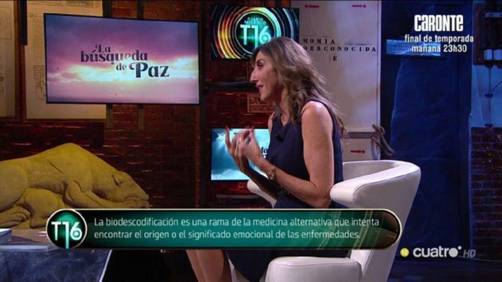 Paz Padilla genera una gran polémica al hablar de la biodescodificación