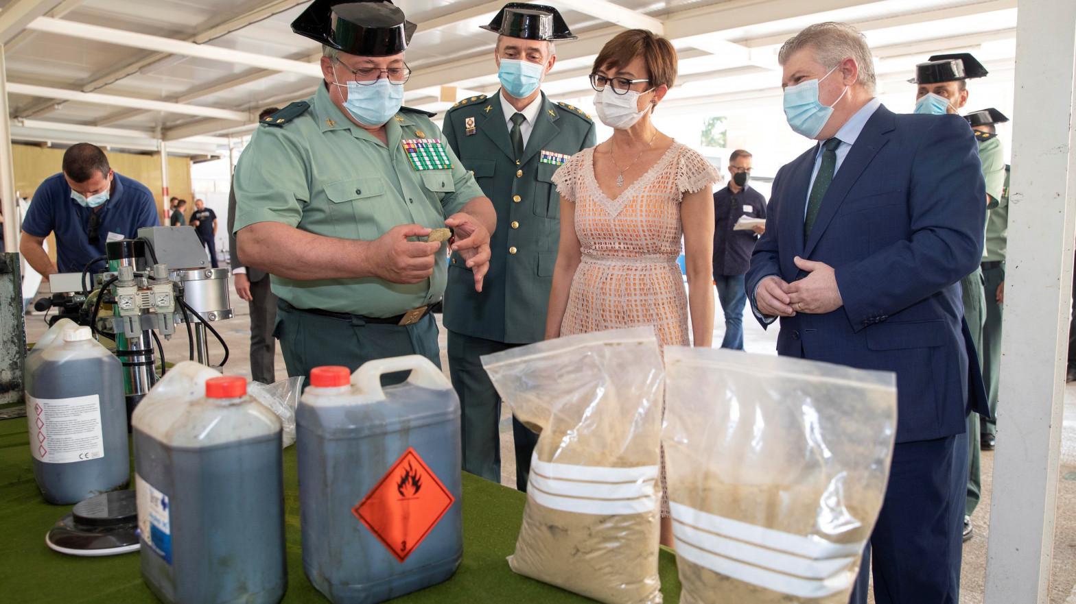 Desmantelan una banda de narcos e incautan 8.300 kilos de hachís en Alicante