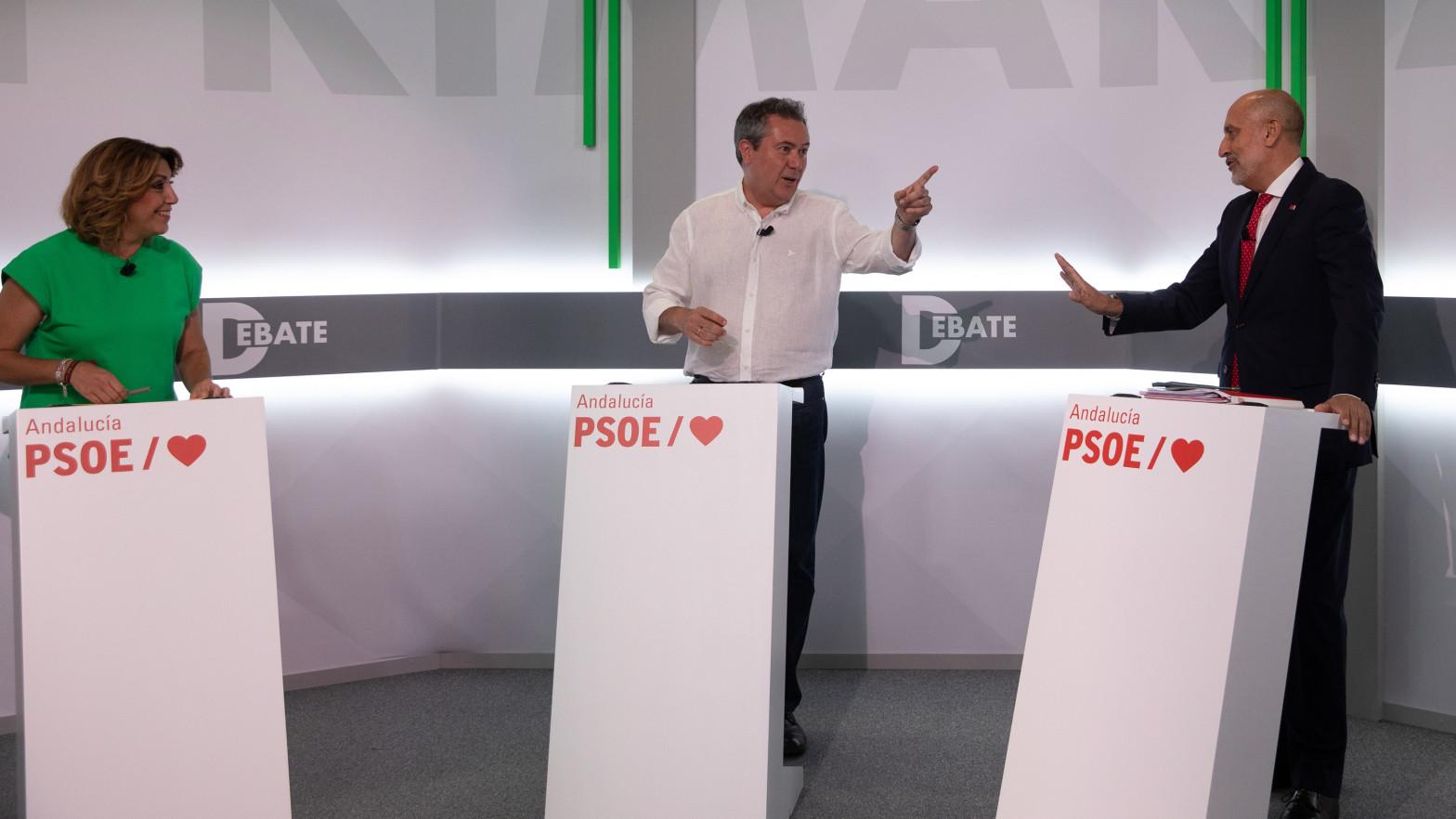 """Espadas reprocha a Díaz """"no escuchar"""" a colectivos que se alejaron del PSOE-A en 2018"""