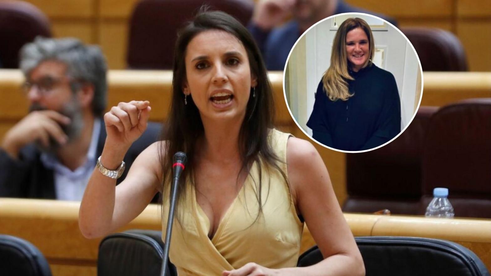 La hermana de Olga Moreno estalla contra Irene Montero