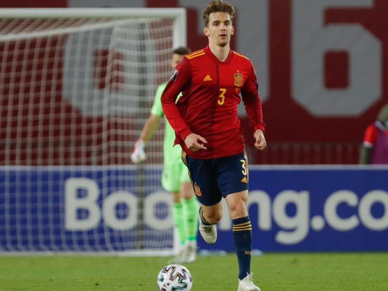 Diego Llorente, segundo positivo por covid en la selección española antes de la Eurocopa