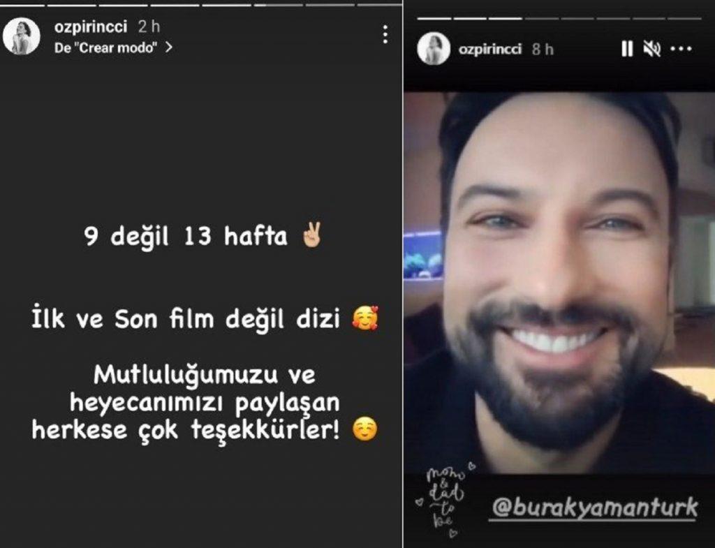 Özge Özpirinçci, Bahar en Mujer, anuncia que está embarazada