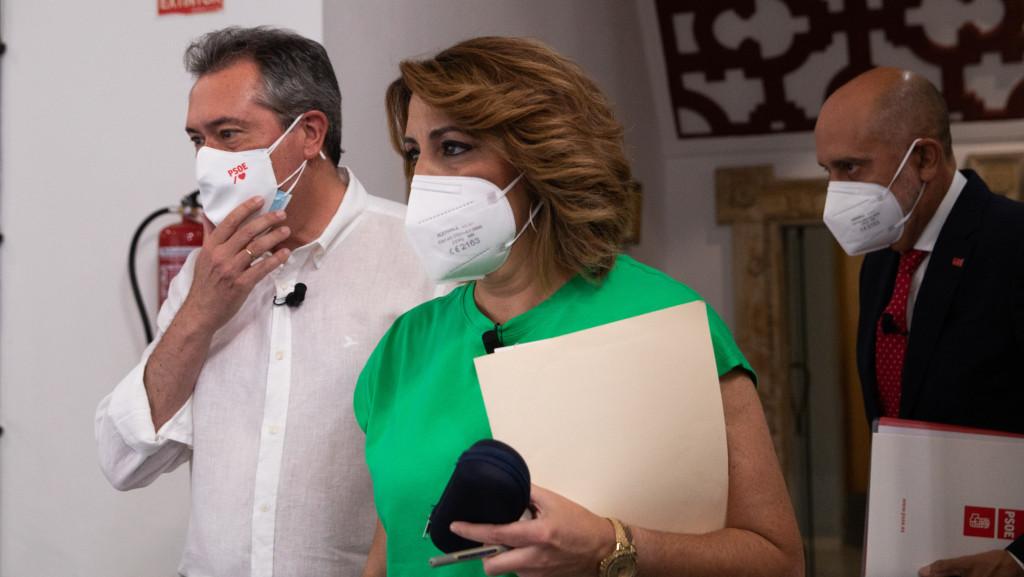 "Espadas rechaza la ""etiqueta"" de ""candidato de Ferraz"": ""Díaz quiere continua confrontación"""