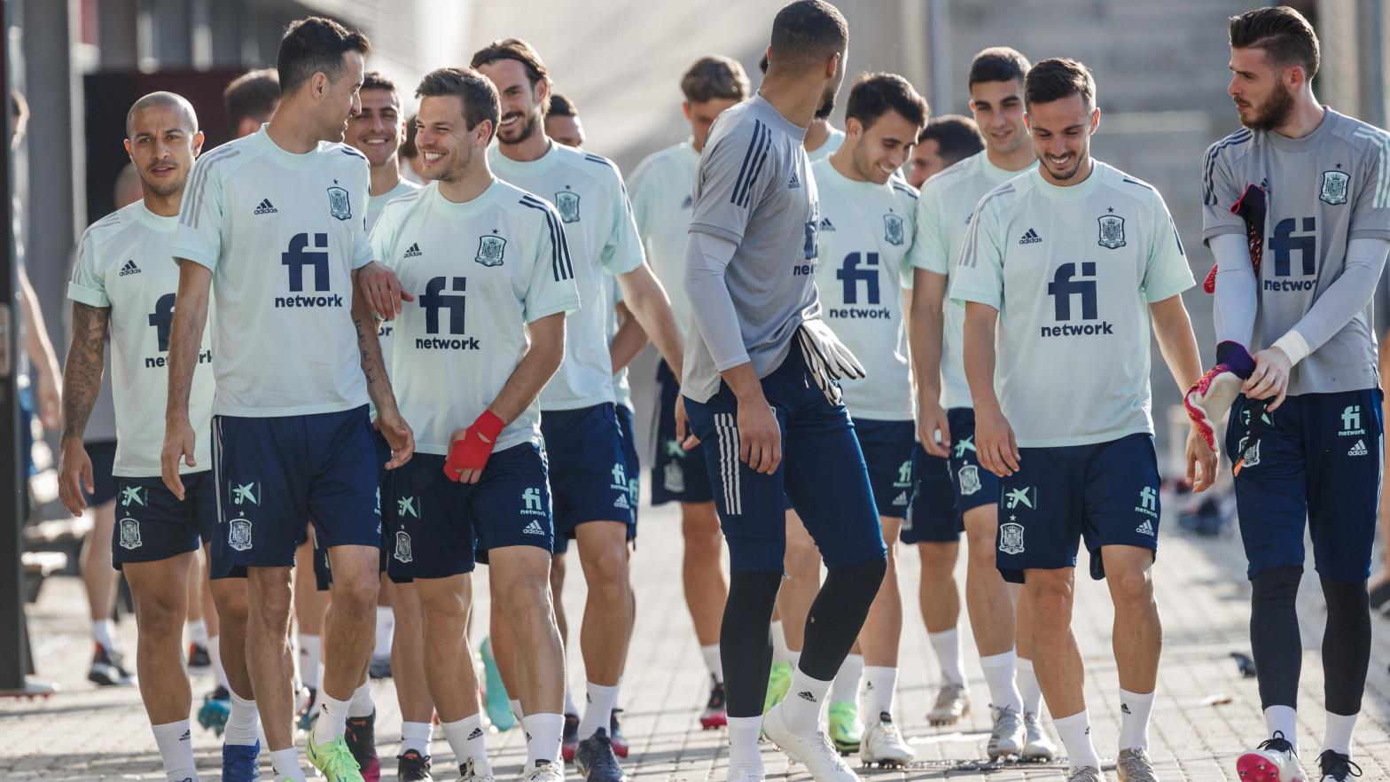 Sanidad confirma que el Ejército vacunará a la selección española antes de la Eurocopa