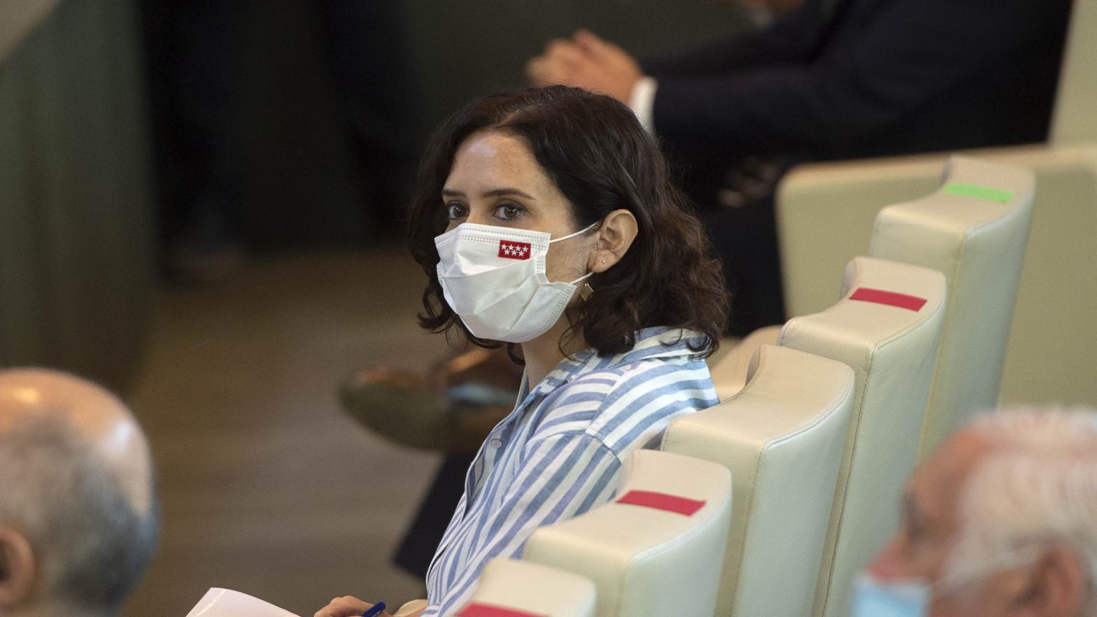 """Ayuso carga contra Sánchez por dar una """"una imagen lamentable"""" de España con los indultos"""