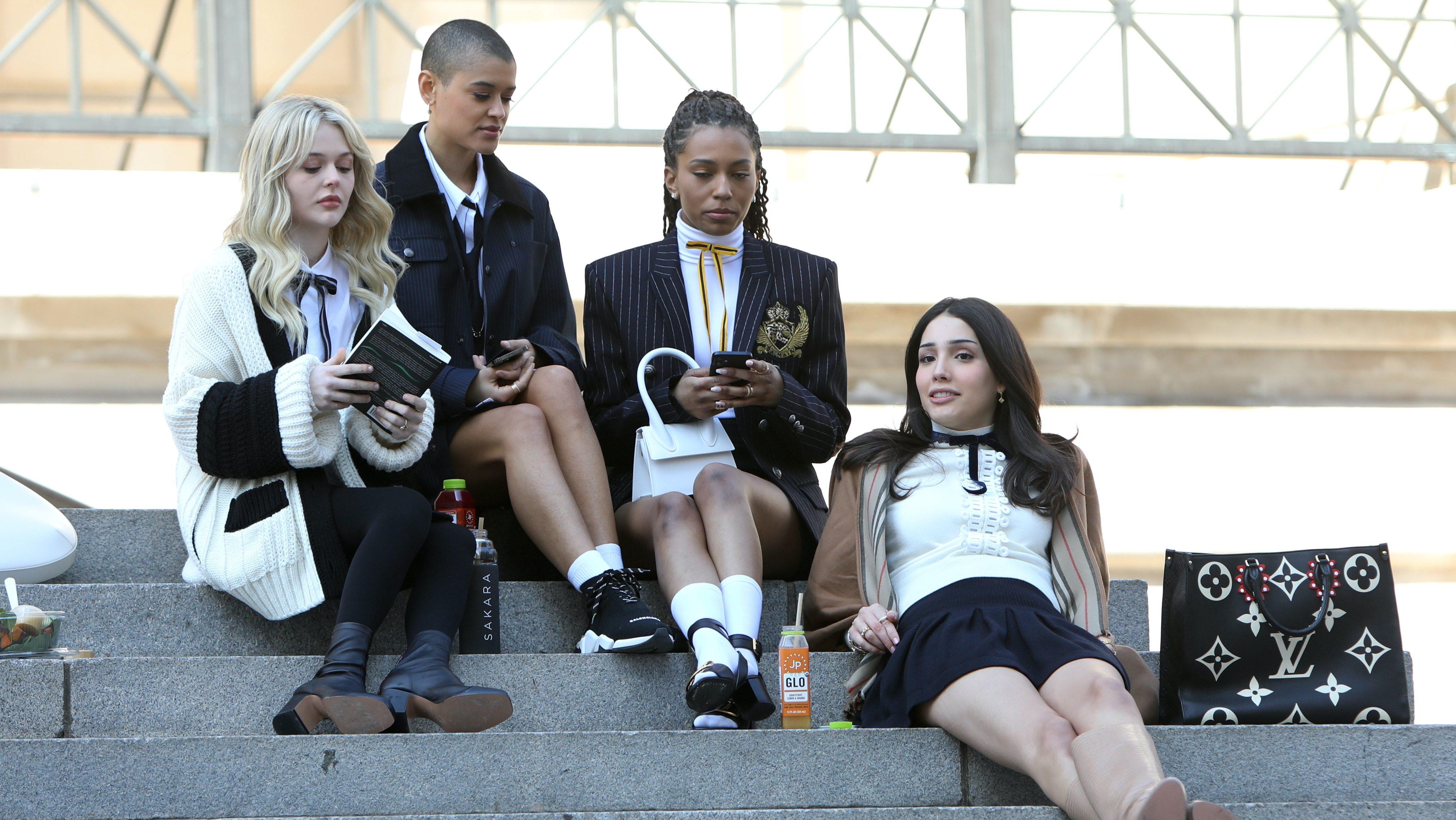 Algunas de las protagonistas de Gossip Girl