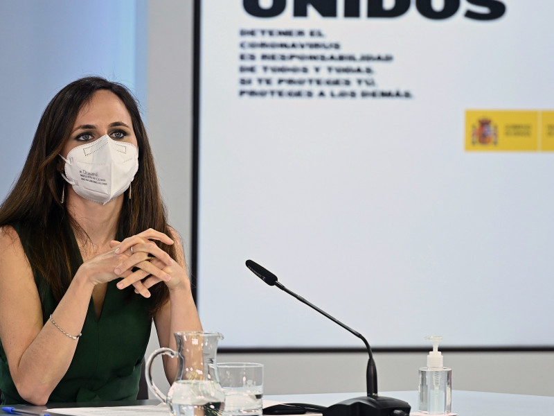 Belarra dice que acabar con la judicialización es que Puigdemont pueda volver