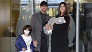 Operan al hijo de Guti y Romina, con tan solo cinco meses