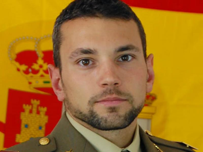 El sargento Rafael Gallart Martínez, del Ejército de Tierra, fallecido en el ejercicio