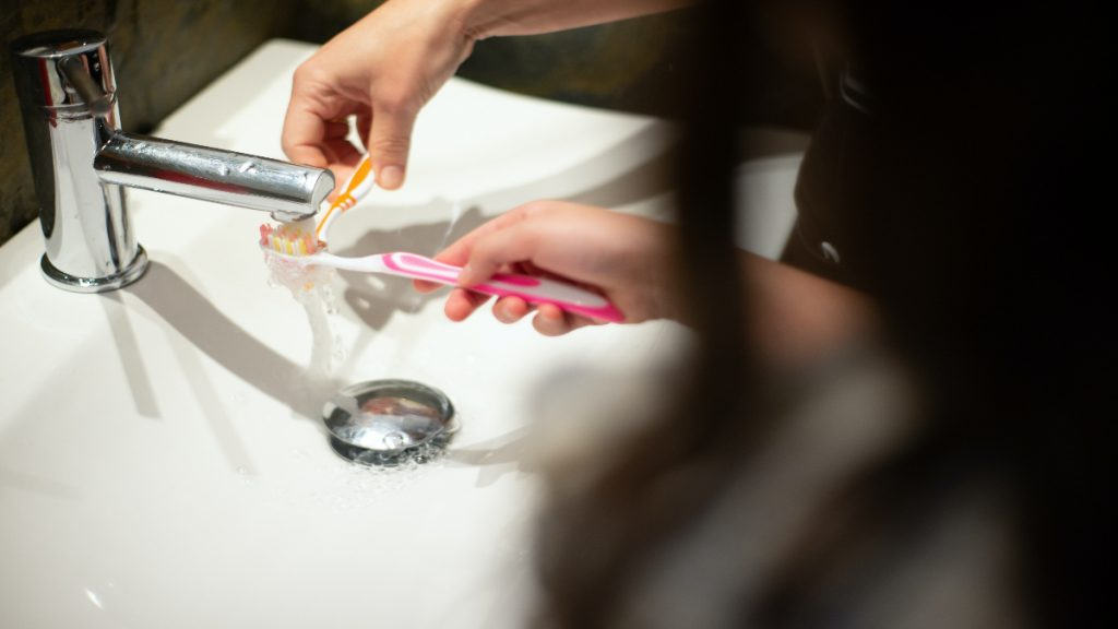 cepillado dientes salud comer beber error