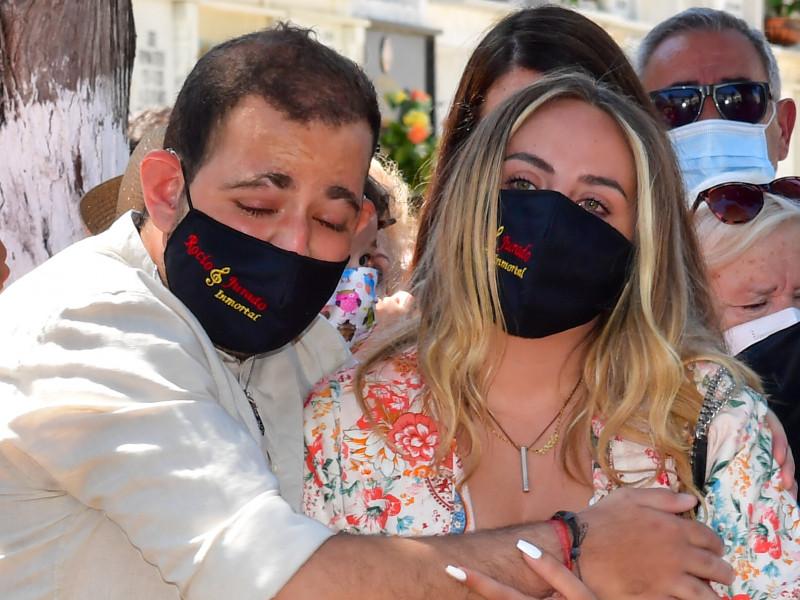 David Flores se une a la demanda de Antonio David contra Rocío Carrasco por impago de pensión