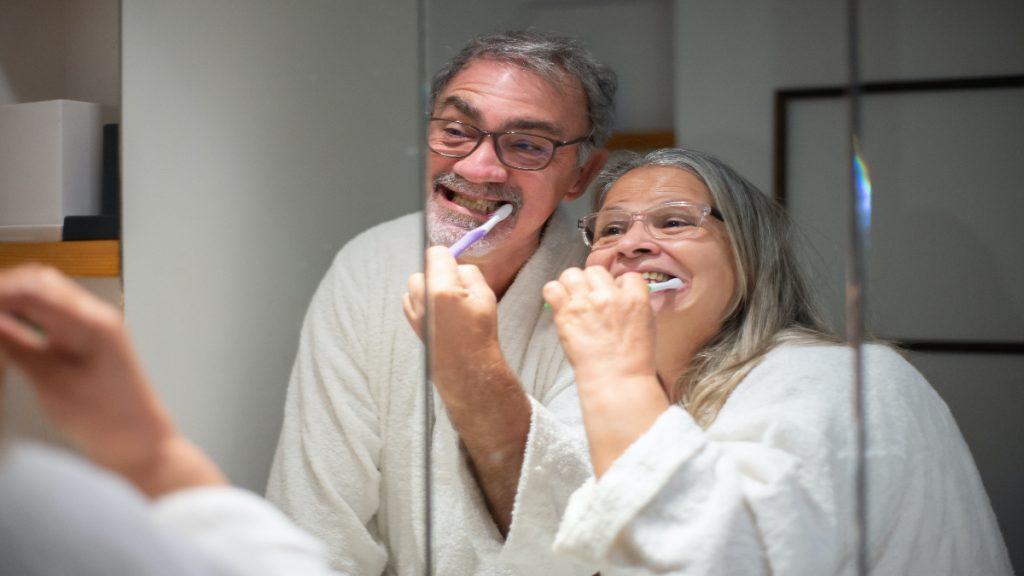 error excepcion cepillado dientes beber comer