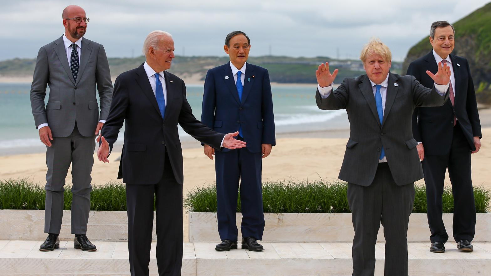 Líderes G7