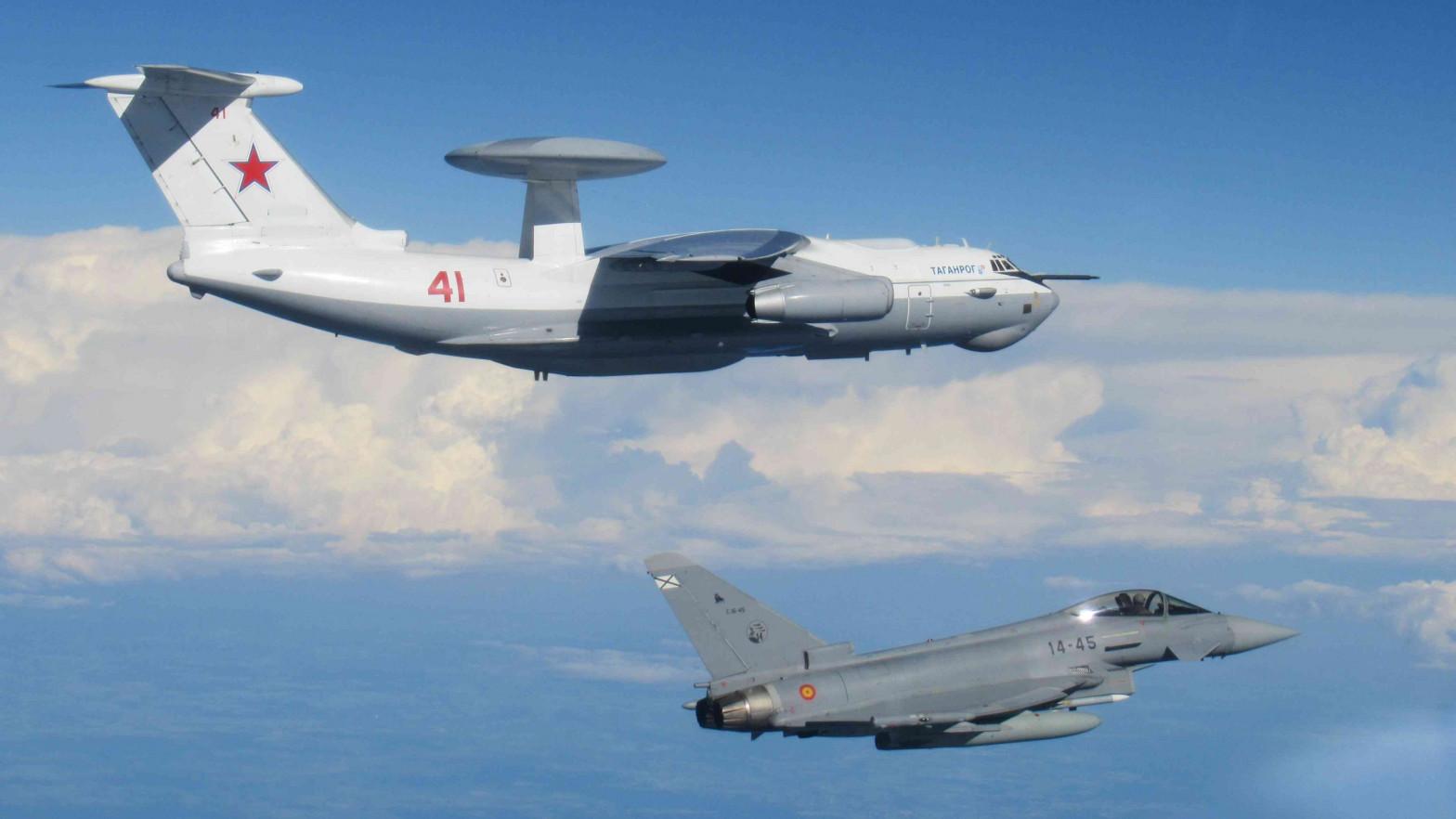 Cazas españoles interceptan un avión ruso que cruzaba los países bálticos sin permiso