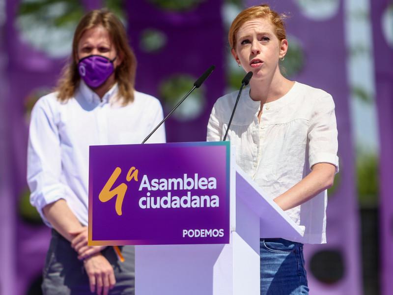 Ione Belarra nombra a Lilith Verstrynge como secretaria de Organización de Podemos