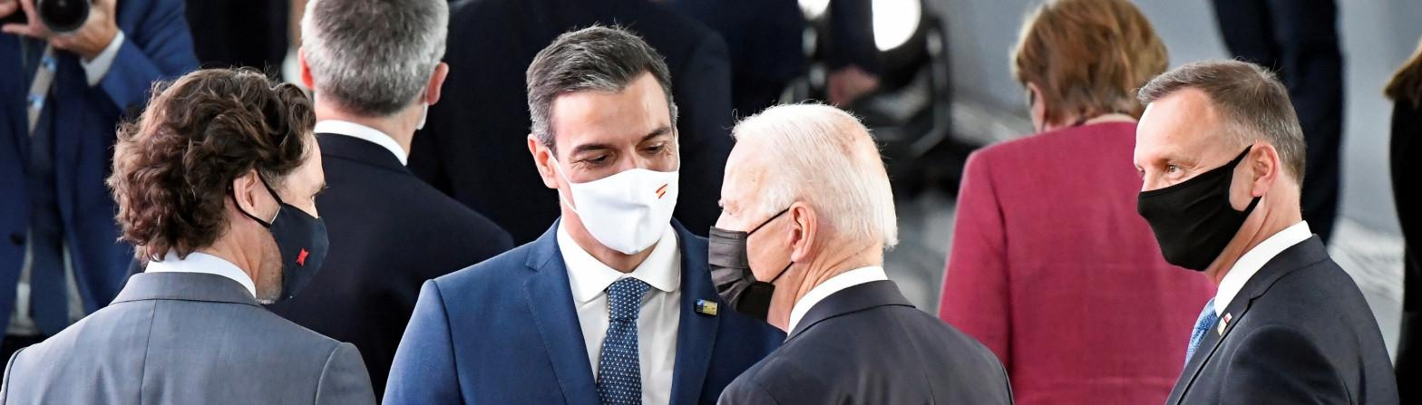 Sánchez Biden OTAN
