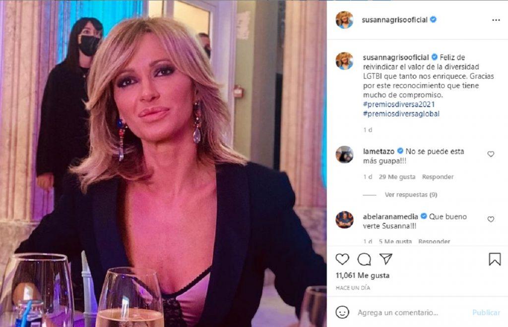 Susanna Griso le dedica su premio a su hermano fallecido por VIH