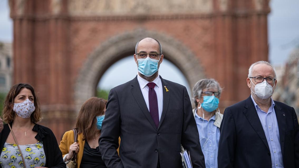 El exconseller de Interior, Miquel Buch, niega que contratara a un mosso para escoltar a Puigdemont en Bélgica