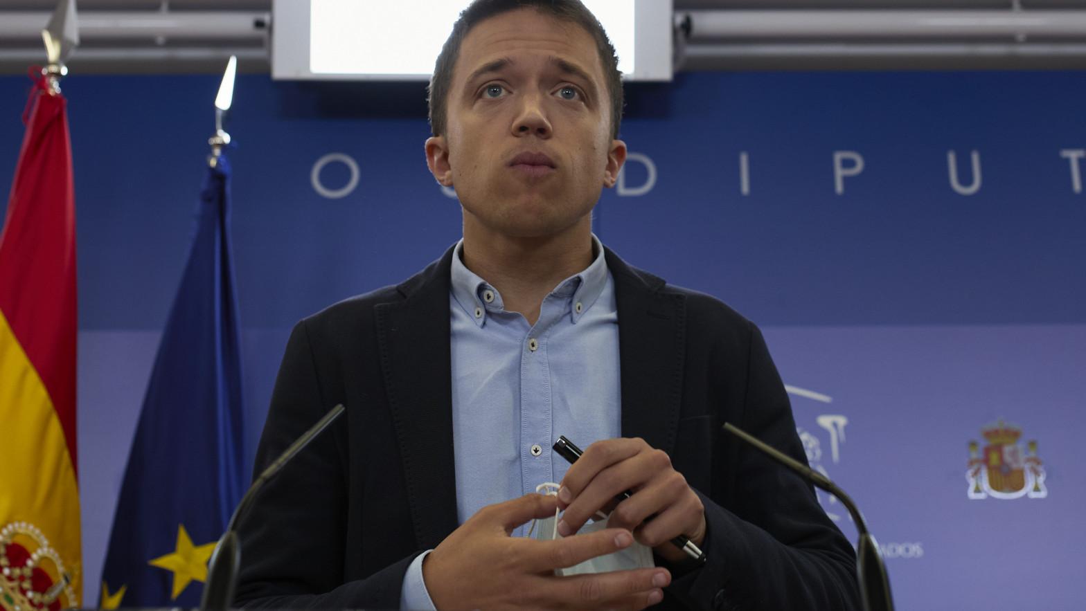 La juez incoa diligencias por la denuncia por agresión contra Íñigo Errejón