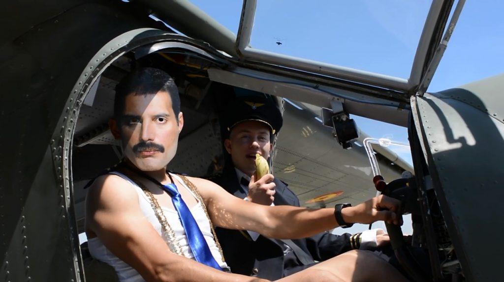 En el vídeo de Leticia Sabater aparece Freddie Mercury