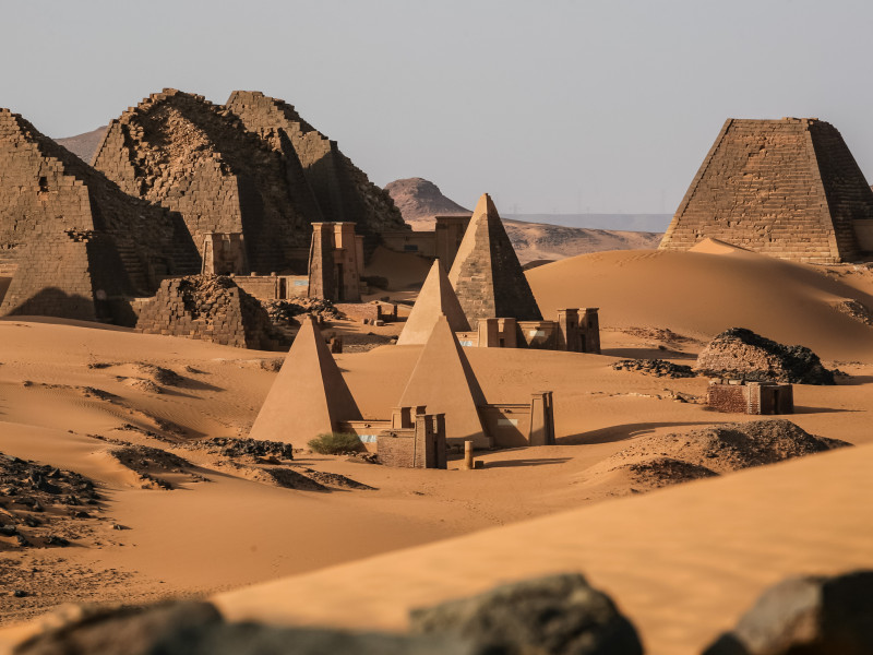 Pirámides Sudán