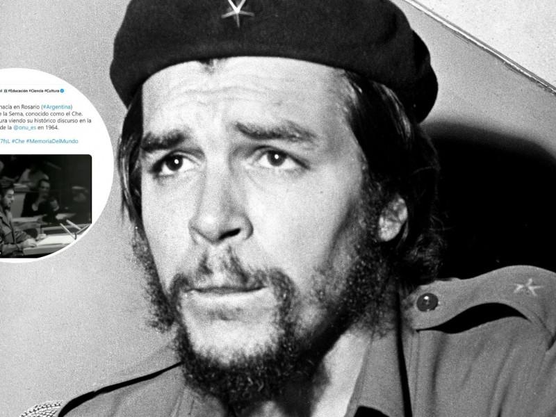 Polémica con la Unesco por conmemorar el nacimiento del Che Guevara