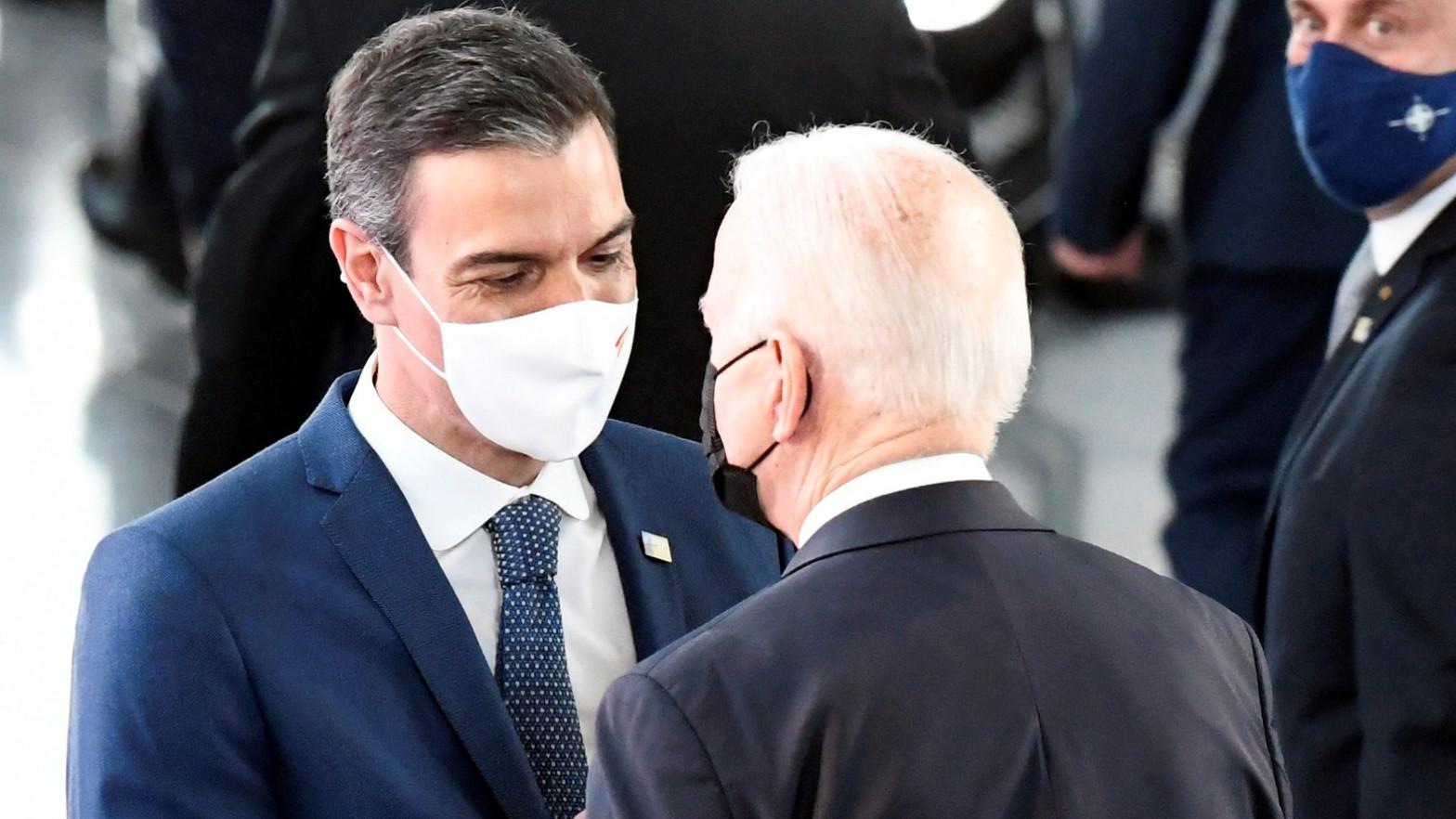 Sánchez Biden