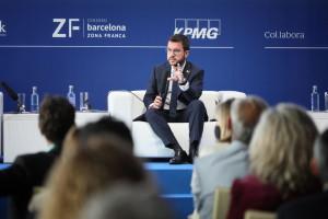 """Aragonés reclama a Sánchez volver al """"marco de Pedralbes"""": conflicto político y fuera de la Constitución"""