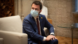 Aragonès pide el traspaso al Govern del puerto de Barcelona, el aeropuerto del Prat y la Zona Franca