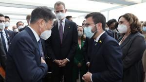 """ERC cree que el rey hace """"pinza"""" con Sánchez para desautorizar el independentismo"""