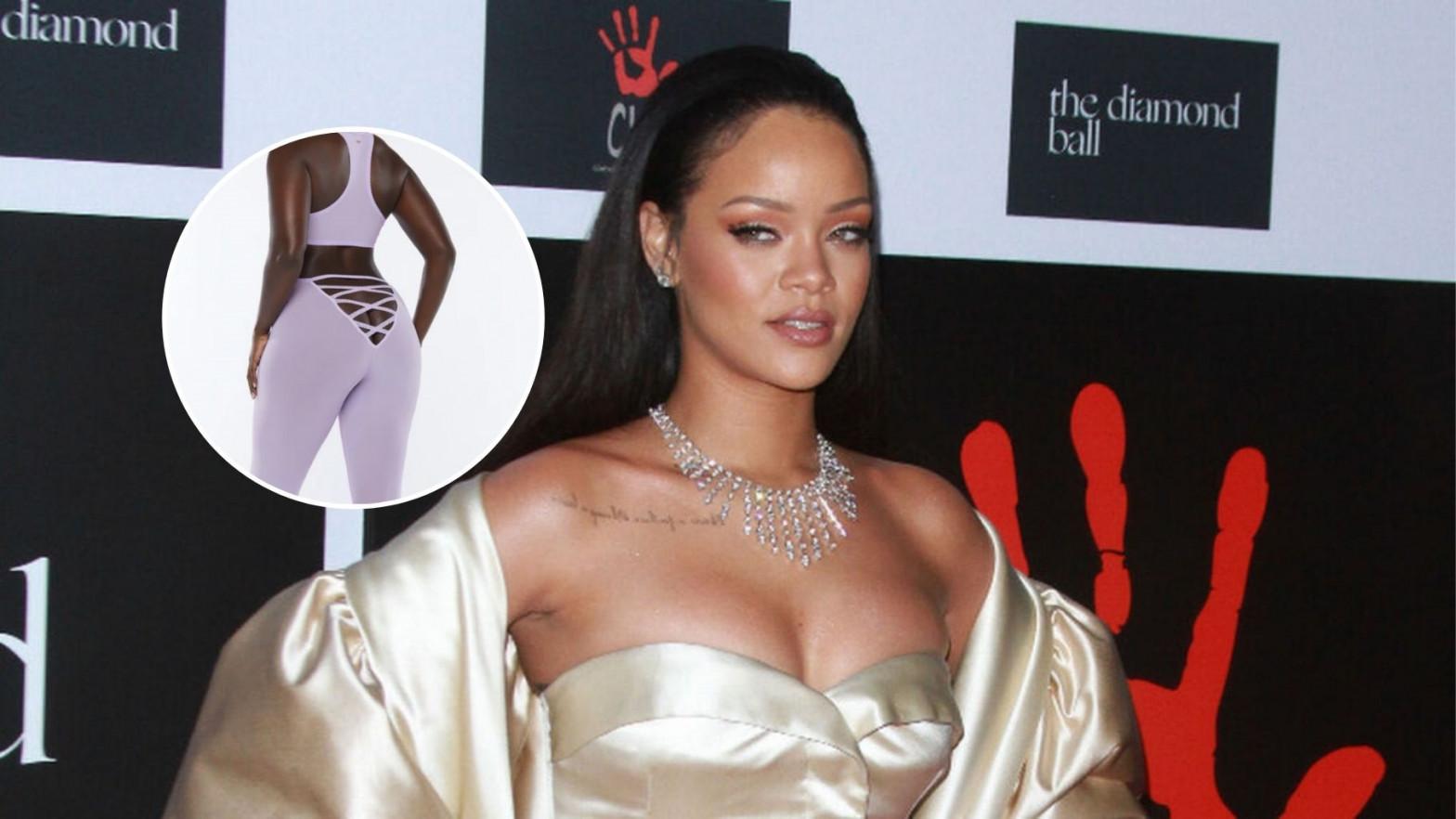 Rihanna saca unos polémicos leggings con escote en el trasero