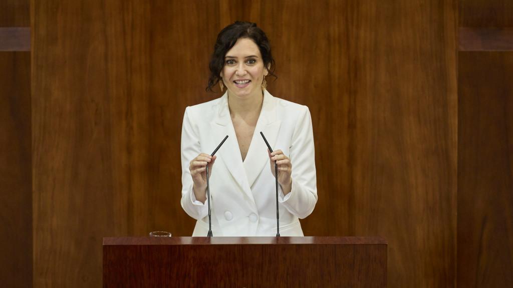 Investidura de Isabel Díaz Ayuso.