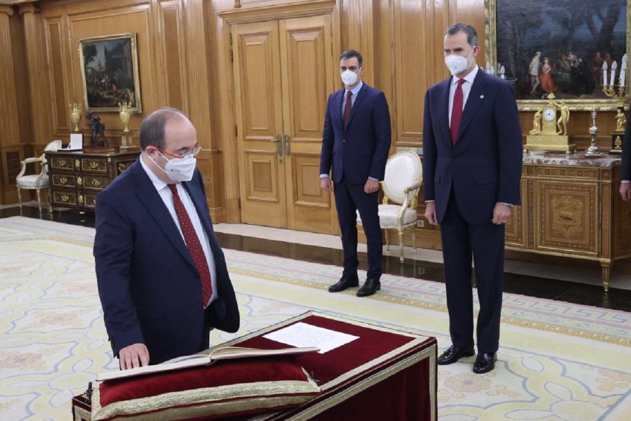 Pedro Sánchez ascenderá a Iceta y planea nombrarle portavoz del nuevo Gobierno