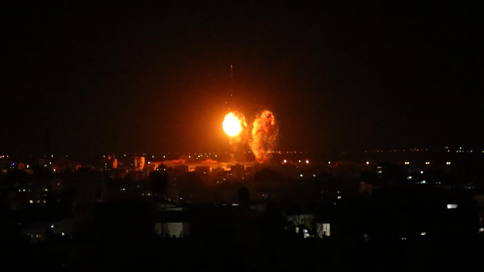 Israel lanza nuevos ataques aéreos sobre supuestos objetivos de Hamás en Gaza