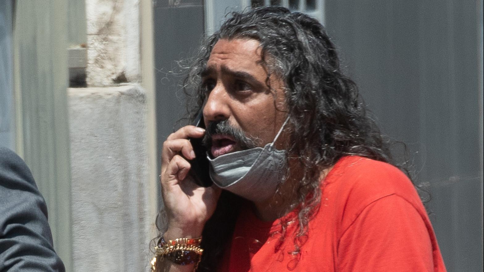 El cantaor Diego 'El Cigala'.