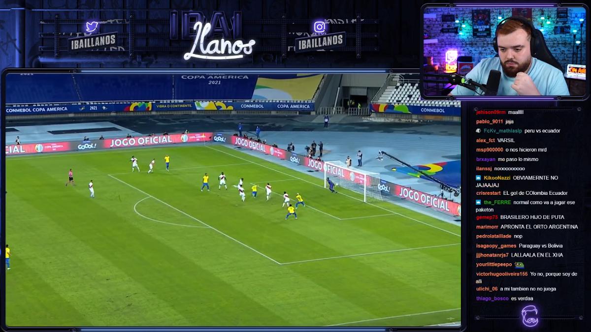 Ibai Llanos retransmitirá la Copa América de fútbol en directo en Twitch