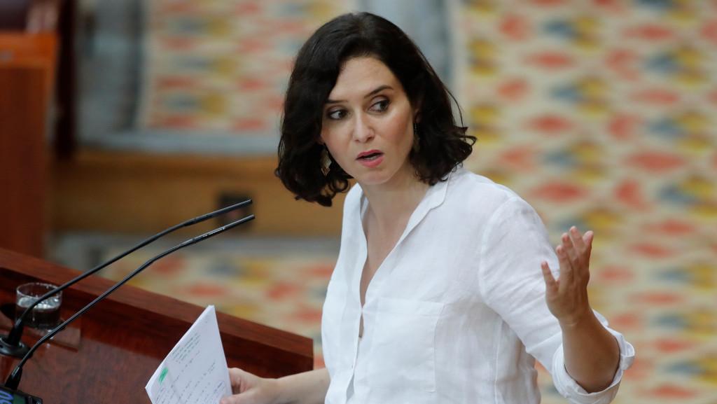 Isabel Díaz Ayuso, elegida presidenta de la Comunidad de Madrid hasta 2023