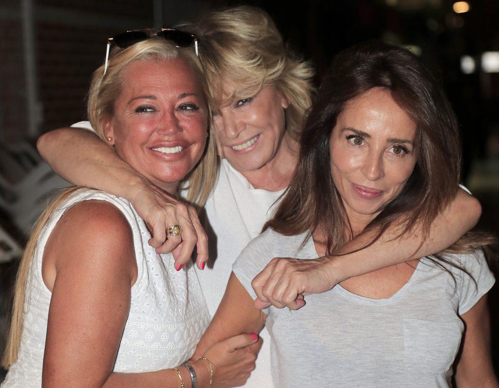 Mila Ximénez con Belén Esteban y María Patiño