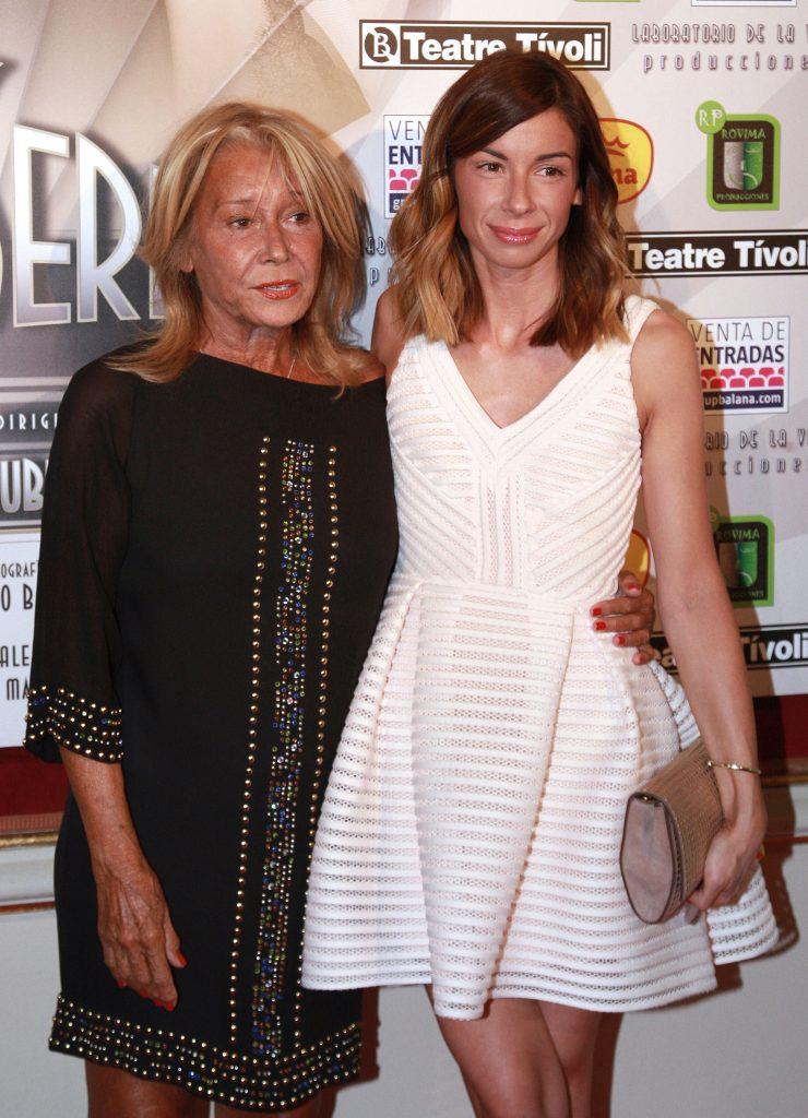 Mila Ximénez y su hija Alba Santana