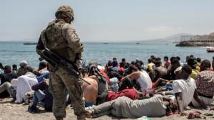 La inmigración irregular sube un 63% en España: más 14.700 personas han llegado en 2021