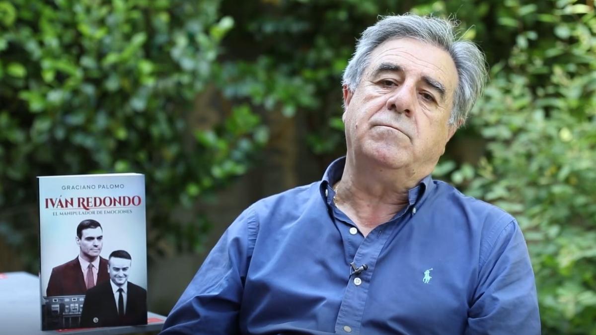 Graciano Palomo, con su nuevo libro, 'Ivan Redondo. El manipulador de emociones'.