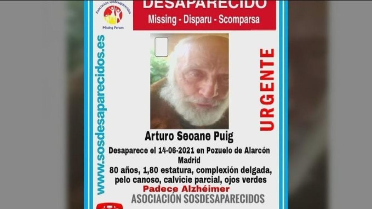Buscan a un hombre de 80 años desaparecido en Pozuelo de Alarcón (Madrid)
